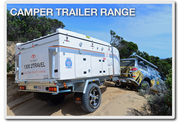 Innovative New AUSTRALIAN OFF ROAD ODYSSEY Camper Trailers For Sale